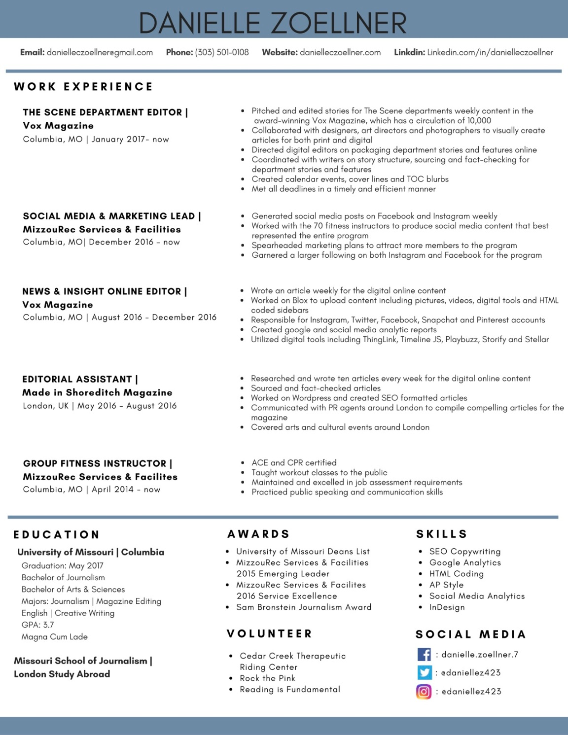 danielle-zoellner-resume